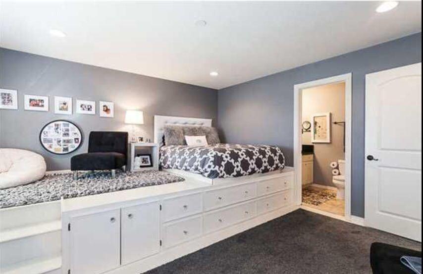 Loft bed Bedrooms ideas in 2018 Pinterest Bedroom, Dream rooms