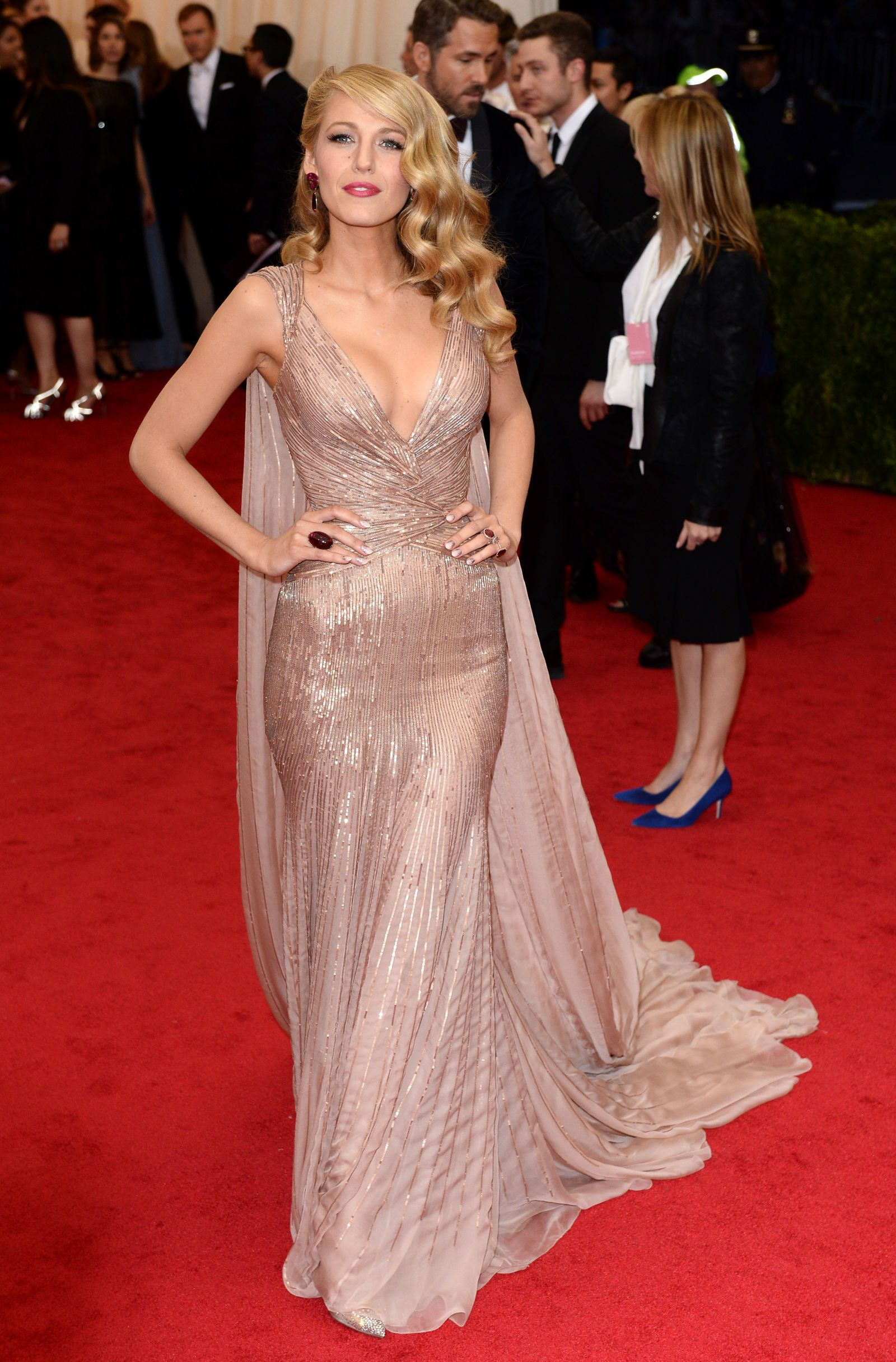 Blake Lively\'s Met Gala transformation | Met gala, Blake lively and Met