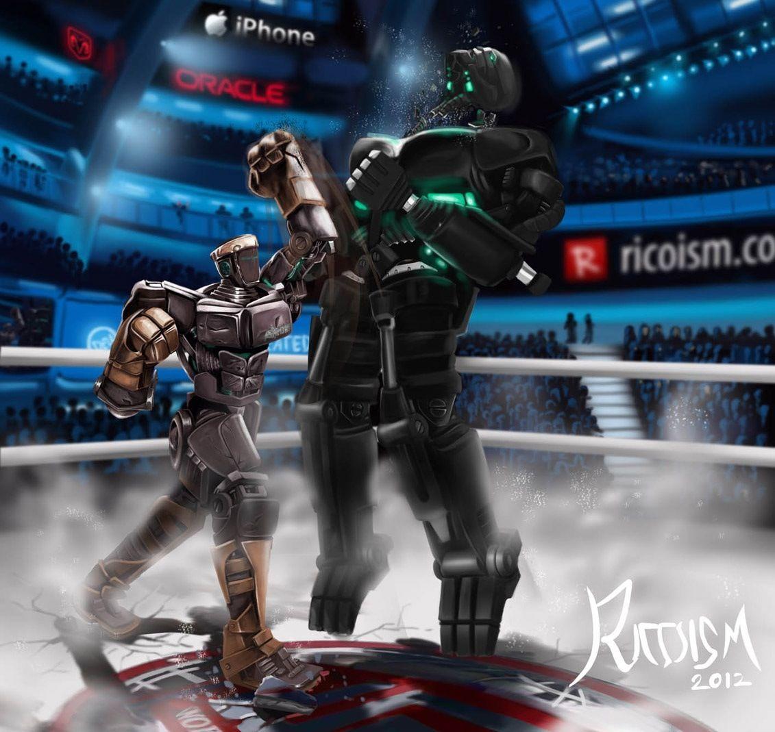 atom vs zeus!!! | geekin out | real steel, steel