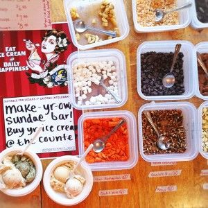 Build-Your-Own Sundae Bar from Sweet Ritual