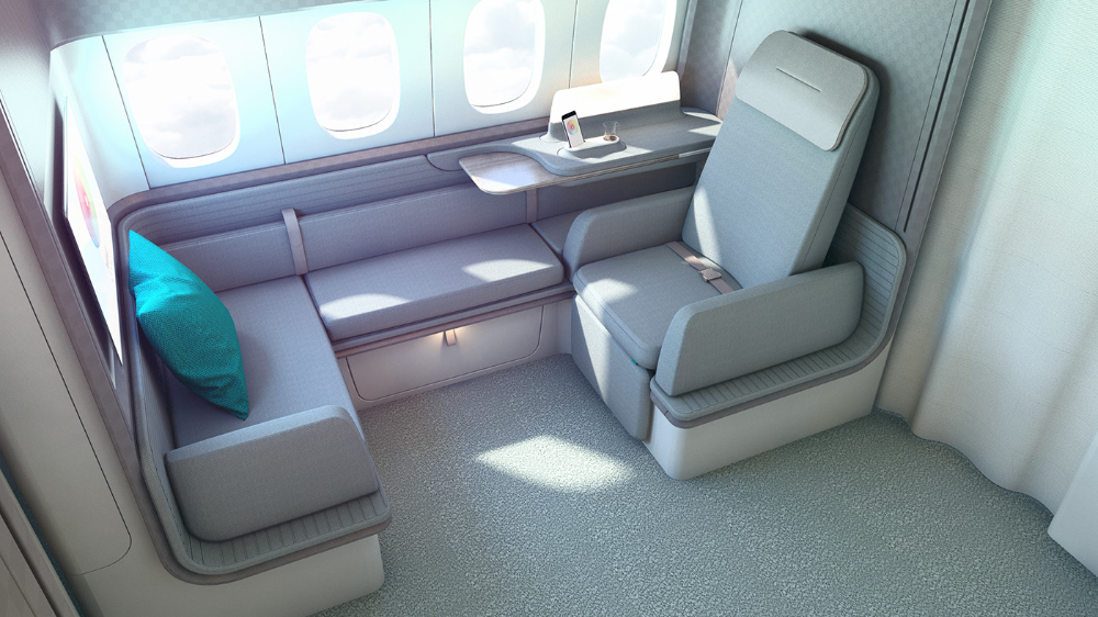CATHAY PACIFIC First class cabin B777300 on Behance in