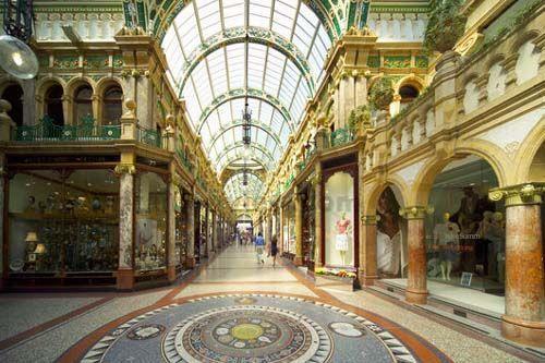 Leeds Shopping Arcade, Leeds, UK
