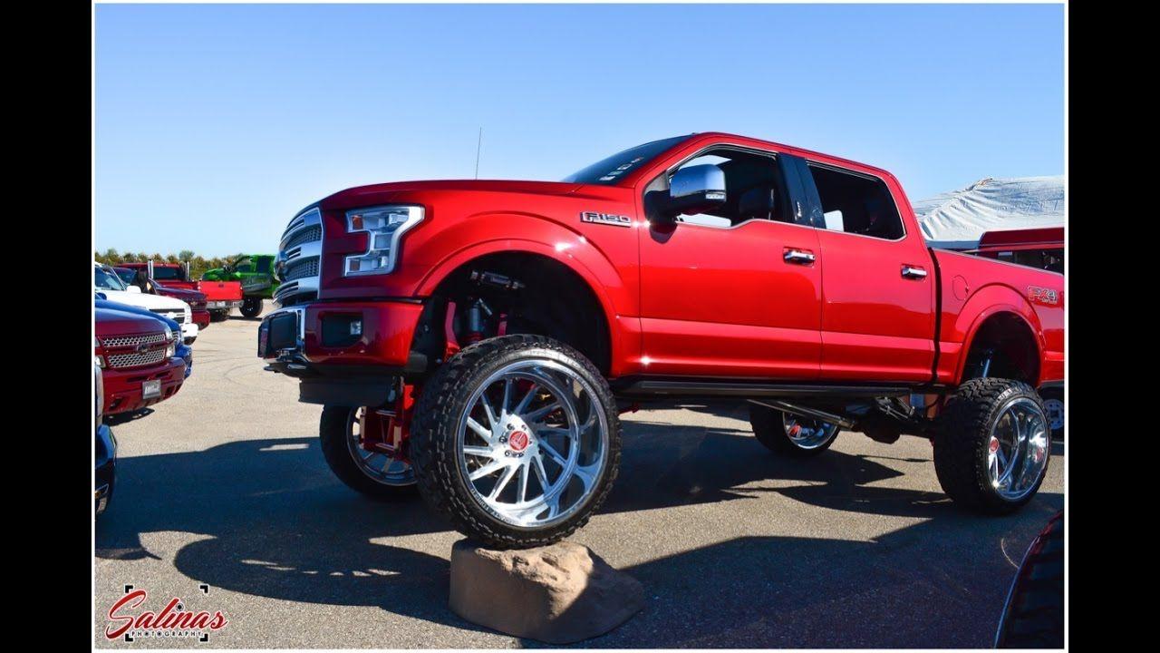 Team billet at october truck madness badass trucks on billet wheels
