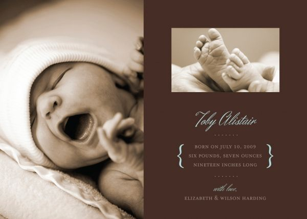 1000 images about Birth announcement ideas – Elegant Birth Announcements