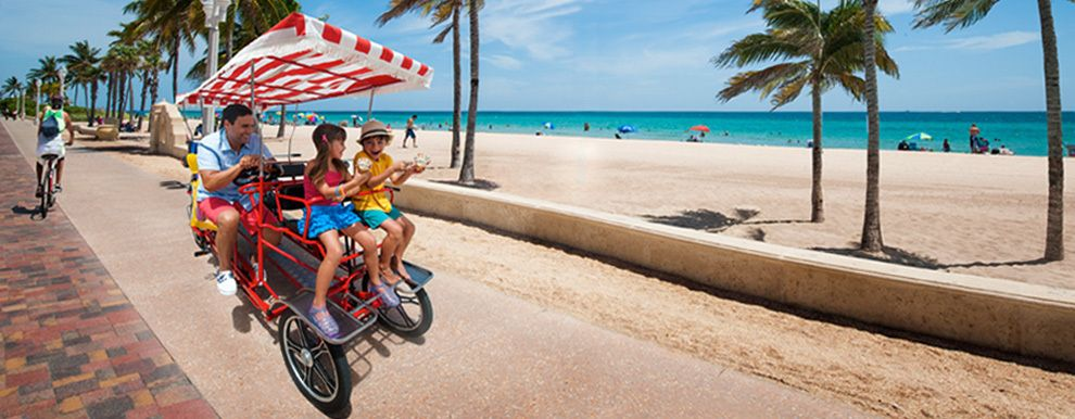Fort Lauderdale for a few hours Family beach vacation