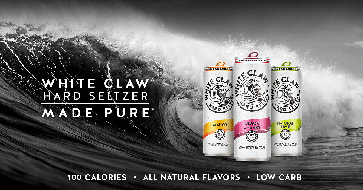 White Claw Hard Seltzer Made Pure Hard Seltzer White Claw Hard Seltzer Pure Products
