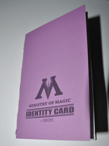 Ministry Of Magic I D Card Free Printable Ministry Of Magic Harry Potter Gifts Diy Harry Potter Day