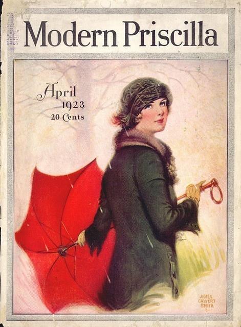 Modern Priscilla 1913-08   Portadas de revistas, Portadas