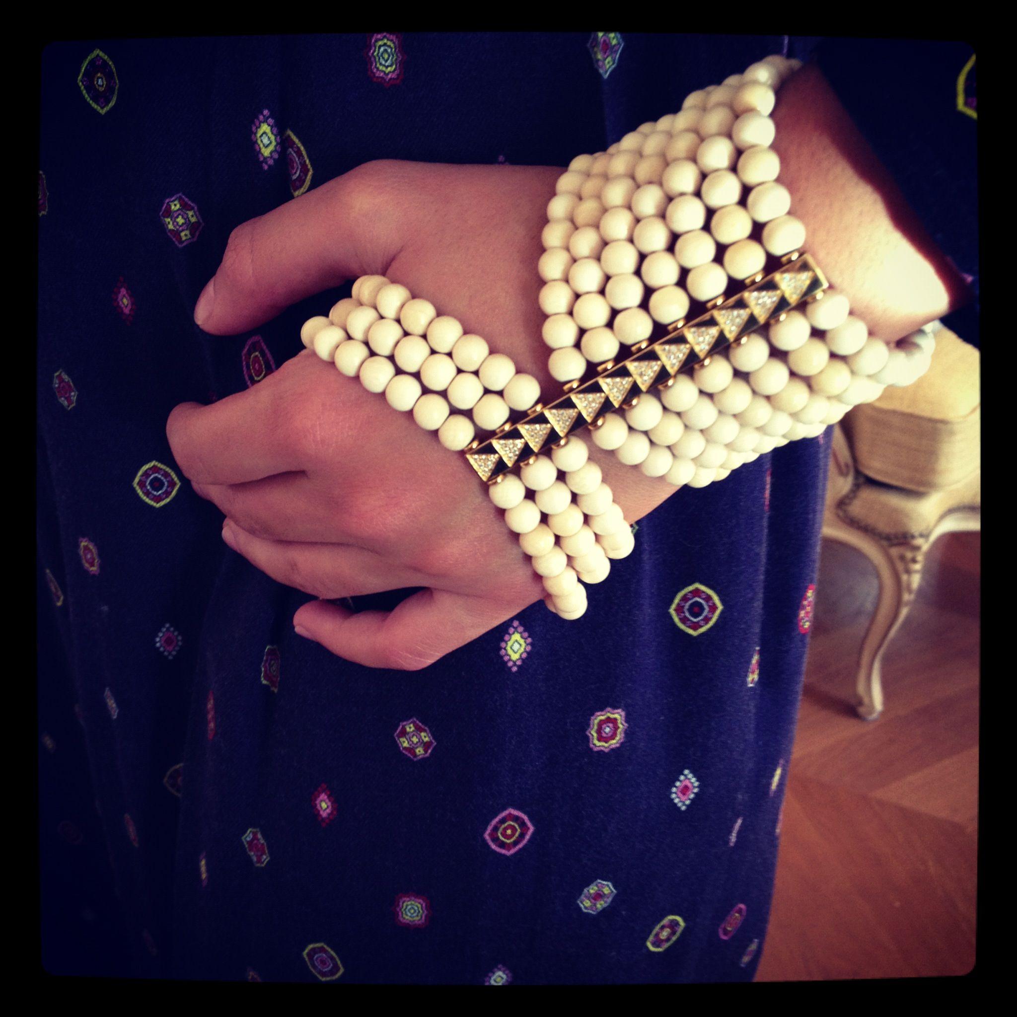 Lebanese jewelry designer Noor Fares Colette Le Mason