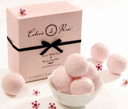 Soap - cute for bridal party or attendant gifts. www.bestweddingshowcase.com