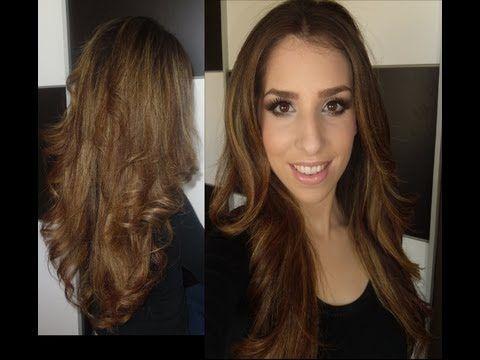 ▶ Peinado liso con volumen utilizando las ghd - YouTube