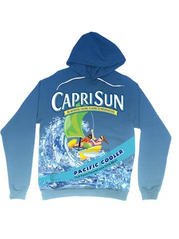 Capri Sun Hoodie Hoodies Nostalgia Clothing Hoodie Material