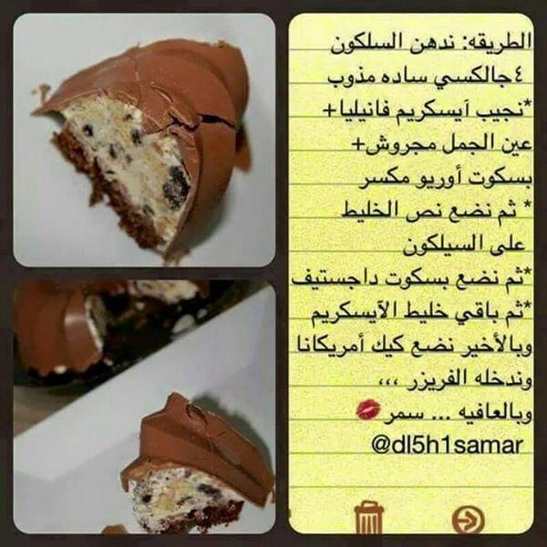 حلا الايس كريم Recipes Food Beef