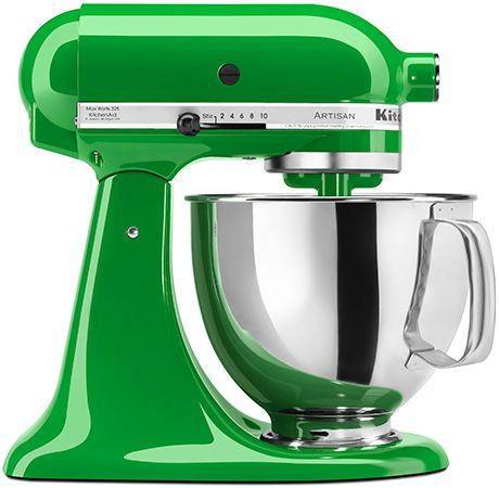 le #robot de #cuisine de mes rêves ;)) #kitchenaid #artisan #green