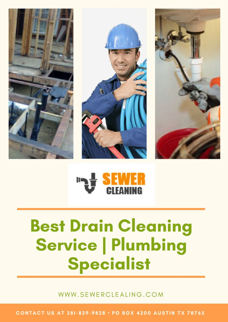 We offer best drain cleaning service in Houston. We deal