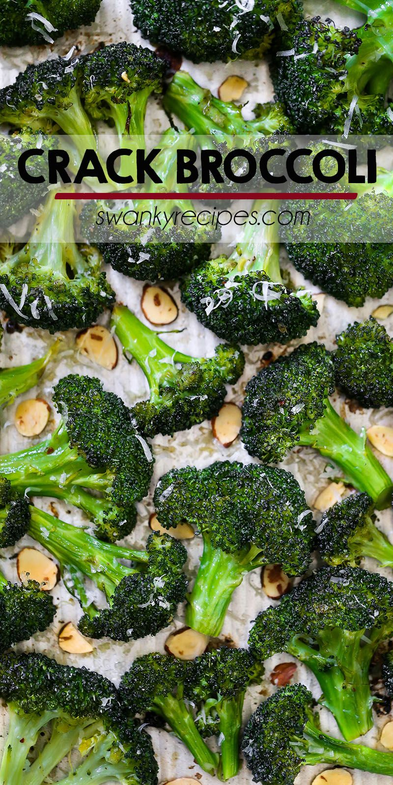 Crack Broccoli {The Best Roasted Broccoli}