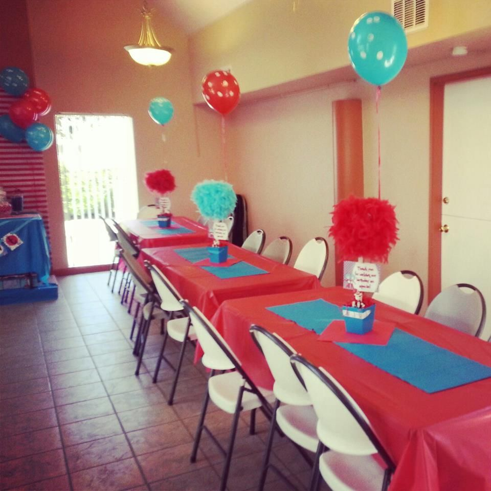 Andrew and Anthony's Thing 1 and Thing 2 Birthday Party 2013 By: Ivette