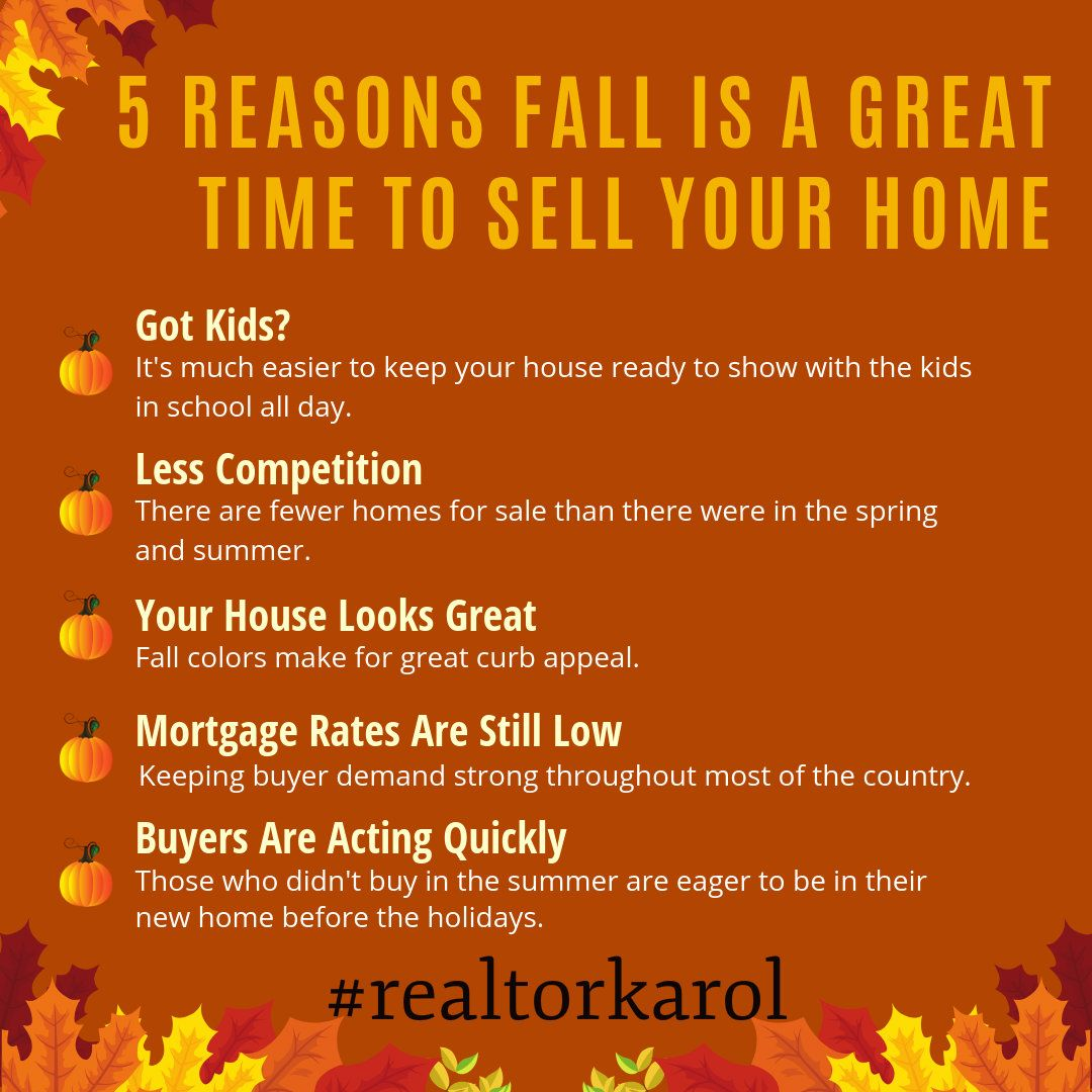 There Are Many Great Reasons To List Your Home For Sale In