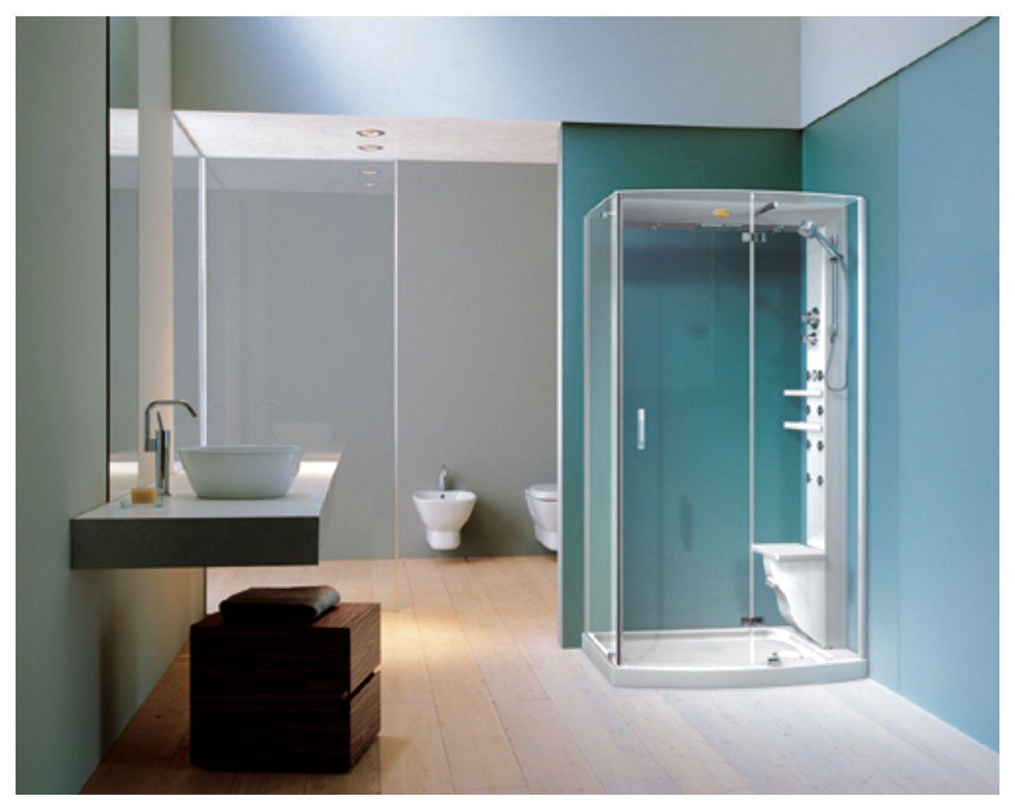 JACUZZI Cabine de douche multifonction avec Hydromassage vertical et ...