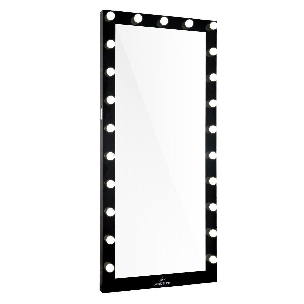 Hollywood Iconic Full Length Vanity Floor Mirror Hollywood Vanity Mirror Full Length Mirror With Lights Floor Mirror
