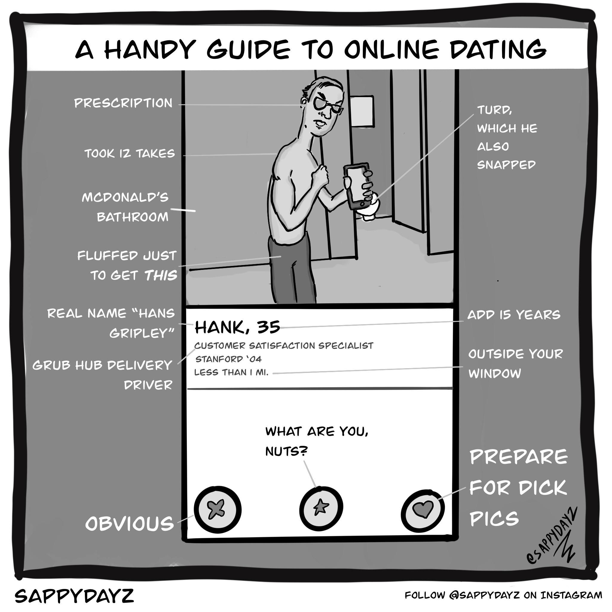 dating on- line satire)