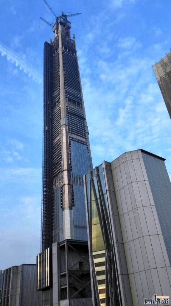 Tianjin Goldin Finance 117 597m 1957ft 117 Fl U