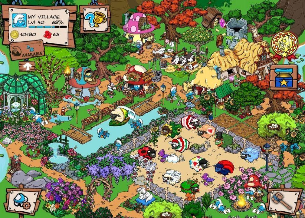 Smurfs' Village : Money Mod : Download APK   Best MODs