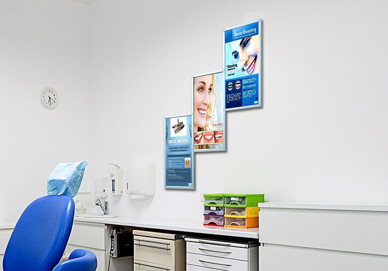 Aluminum Poster Frame Display Kits Made Of Lightweight Aluminum Profiles Poster Frame Frame Display Poster Display Design
