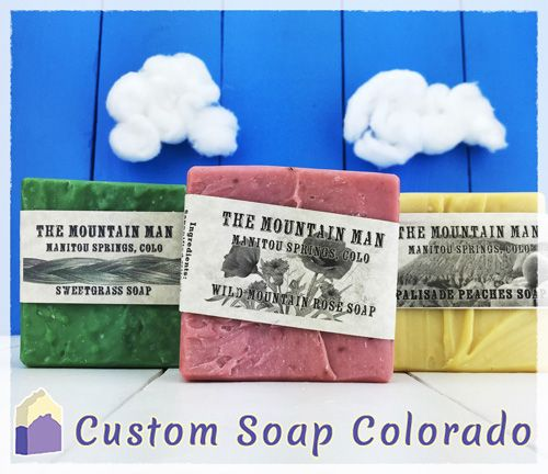 Custom Wholesale Bars of Soap and Packaging for a Specialty