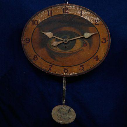 Gilbert Co. Optic Eye Clock, ca. 1910 — Appraised Value:  $4,500 - $5,000