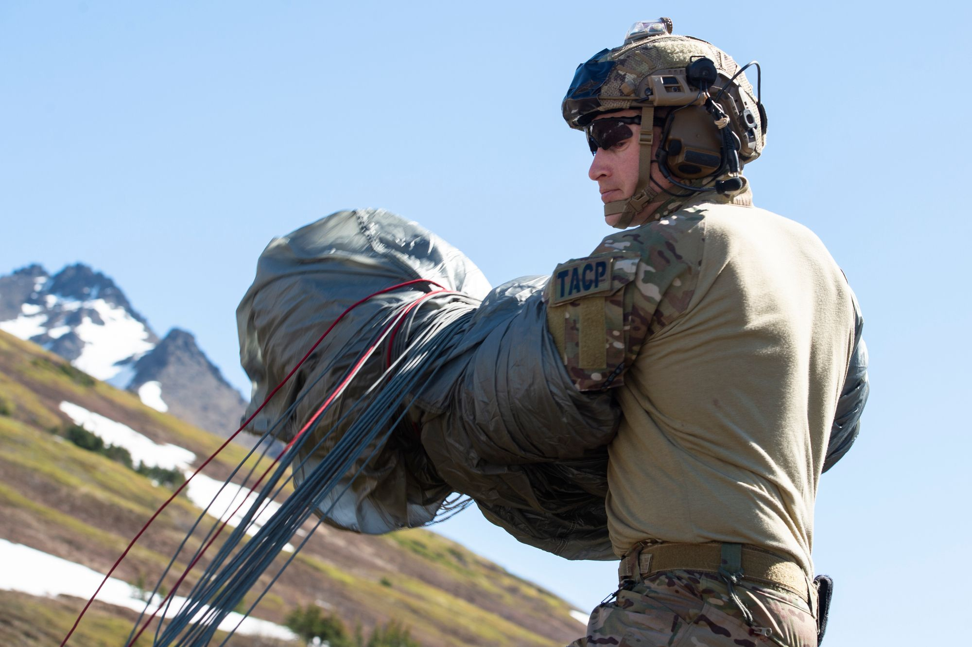 TACP in Alaska Post Jump in 2020 Army rangers, Special