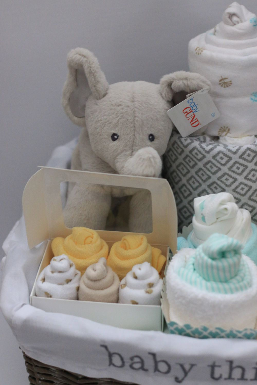 Gender Neutral Baby Gift Basket Baby Shower Gift Unique
