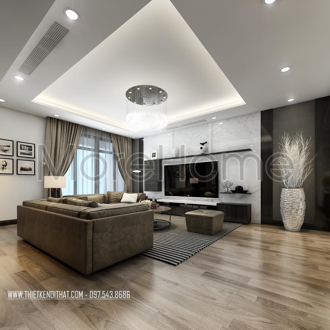 Thiết kế nội thất chung cư hiện đại tại ROYAL CITY - Anh Nguyên ...