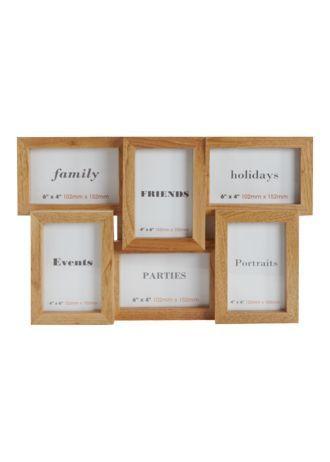Oak Multi Aperture Frame | Frames | Pinterest | Aperture
