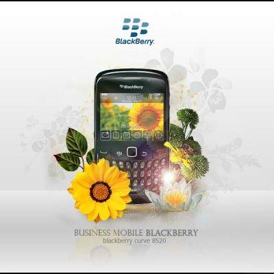 Mobile Advertisements: Blackberry Curve 8520