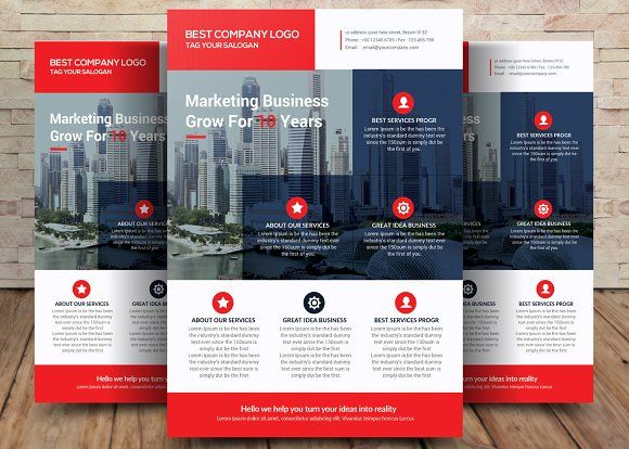 Business Flyer Template by Party Flyers on @creativemarket   Awesome ...