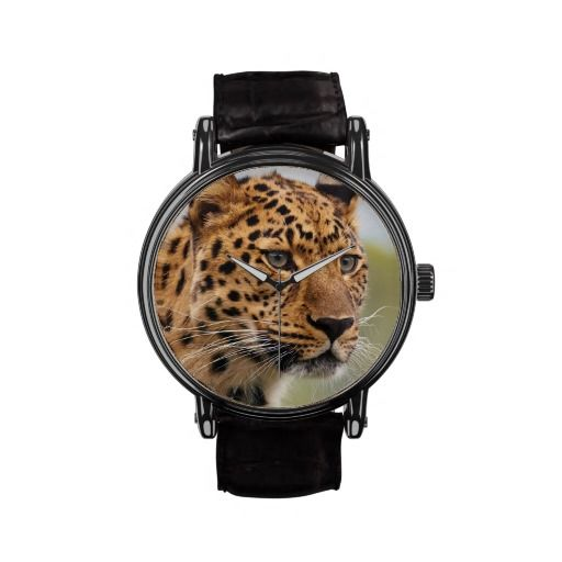 Leopard  3 Watch & Numeral Options