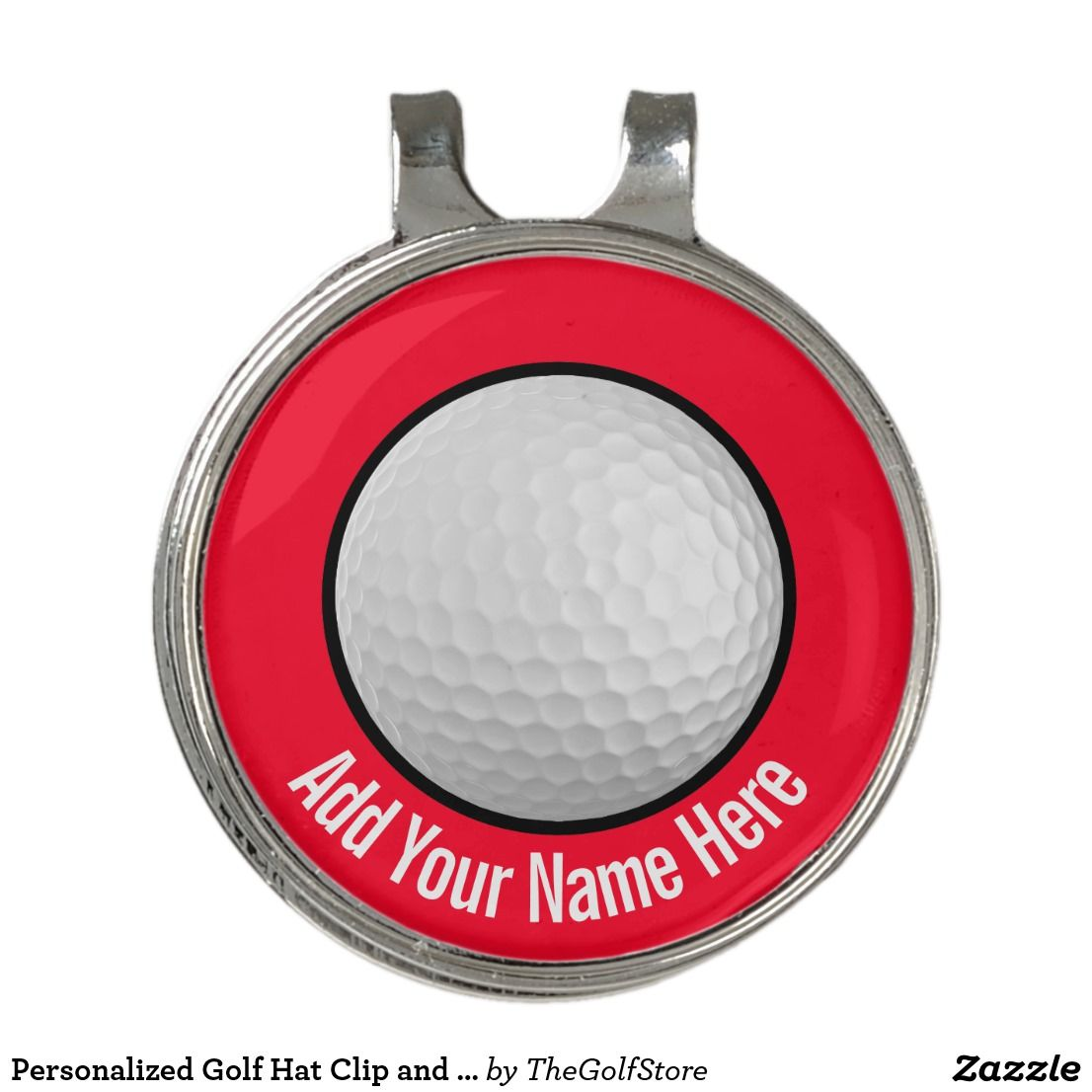 Personalized Golf Hat Clip And Ball Marker Ball Markers Golf Gifts For Men Personalized Golf