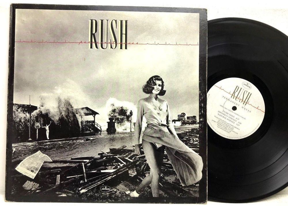 Rush Permanent Waves Mercury SRM-1-4001 MASTERDISK LP Vinyl