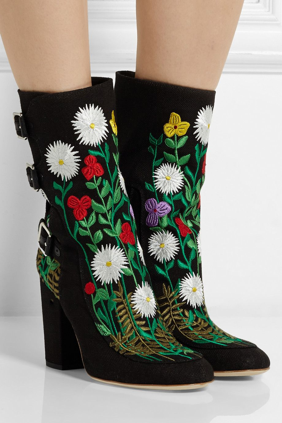 LAURENCE DACADE Embroidered flower ankle boots Classic Online Ebay Sale Affordable Brand New Unisex EkK2g9p
