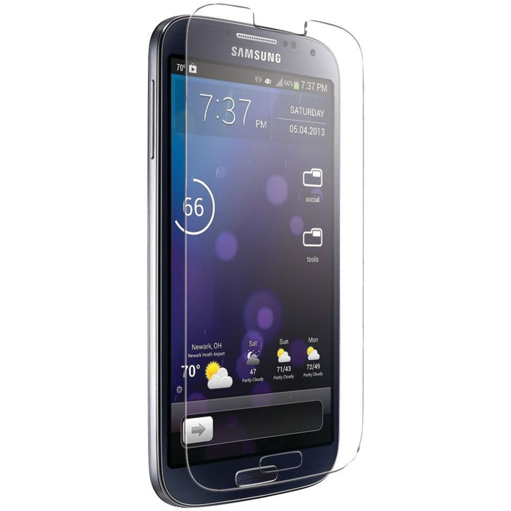 IESSENTIALS IE-SG4-SCTG Samsung(R) Galaxy S(R) 4 Tempered Glass Screen Protector
