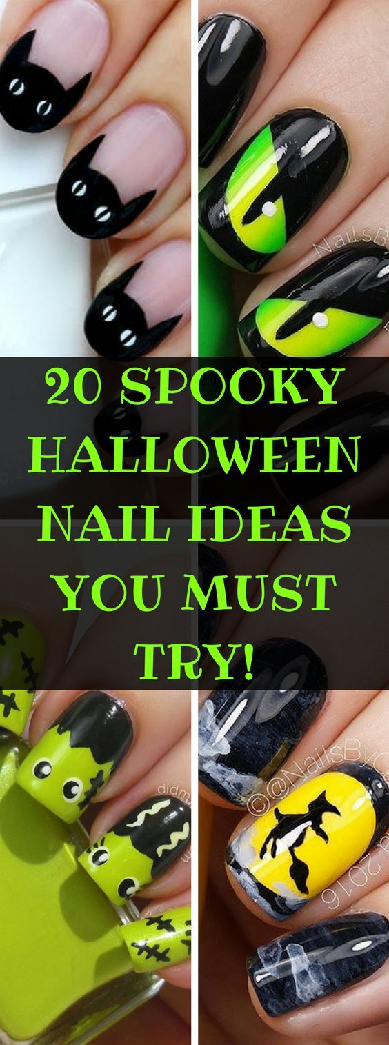 20 HALLOWEEN NAIL ART IDEAS THAT'LL MAKE YOU BOO-TIFUL ...