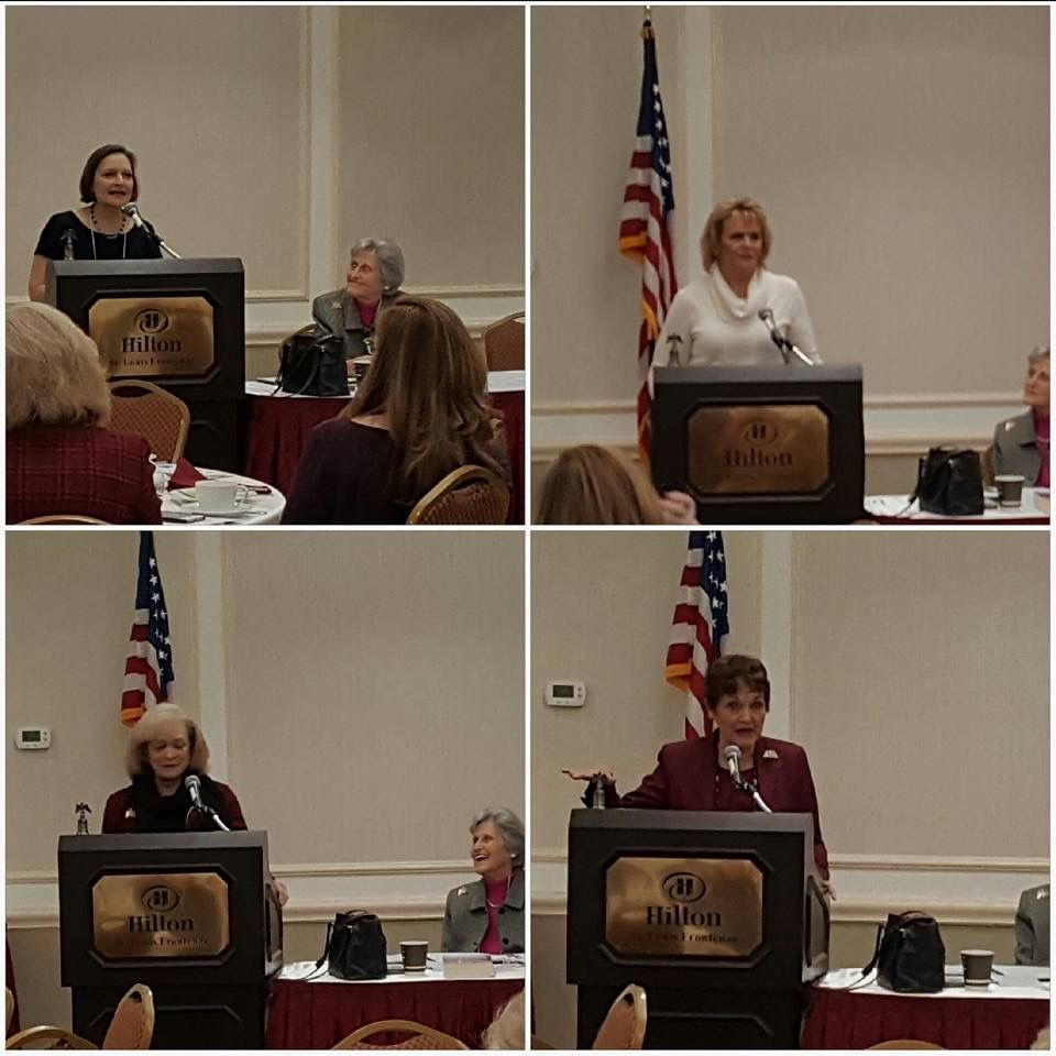 Lastly, as an appropriate close to a wonderful Roundtable and reunion, many who knew Phyllis well, shared, the 'State of our Hearts... remembering Phyllis with love!' Lots of tears, gratitude and laughter, too! A wonderful tribute and farewell to our dearly missed and very beloved leader, friend, mentor and mother! ❤️ #EagleForum #Leaders #Conservative #EagleForumReport #PresidentsRoundtable #GrassrootsActivism #ProFamily