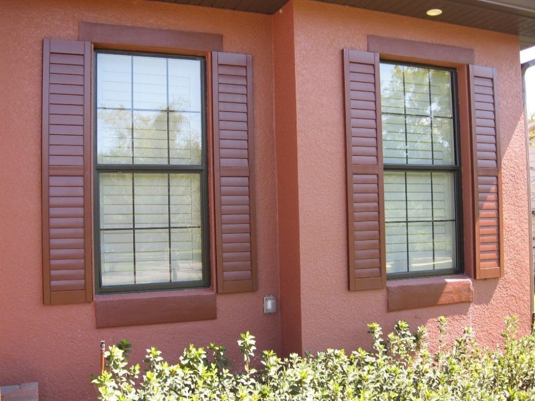 Bay window exterior shutters - Exterior Shutters Exterior Shutters Window Blinds