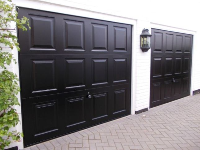 Best Black Garage Doors Ideas Garage Door Design Black Garage Doors Garage Door Paint