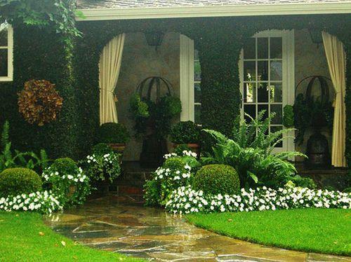 Pin De Blanca Galeano En Jardin Jardines De Casas Pequenas