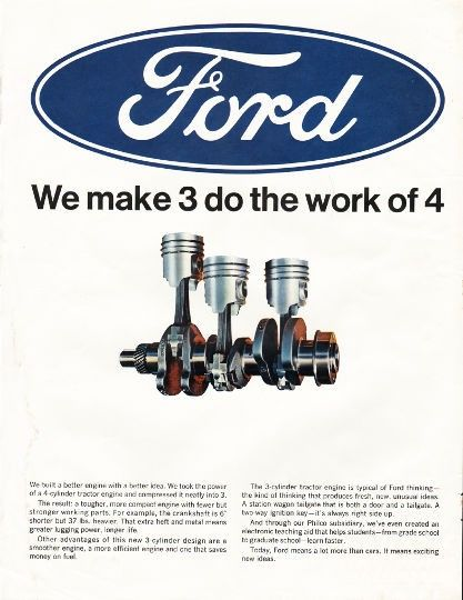 1966 Ford Auto Parts Vintage Ad Do The Work Of 4 Vintage Ads