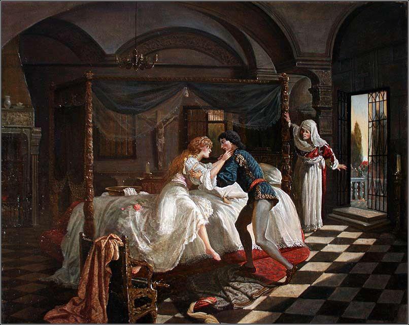 Romeo And Juliet Artist Ilyas Phaizulline Painting Romeo And