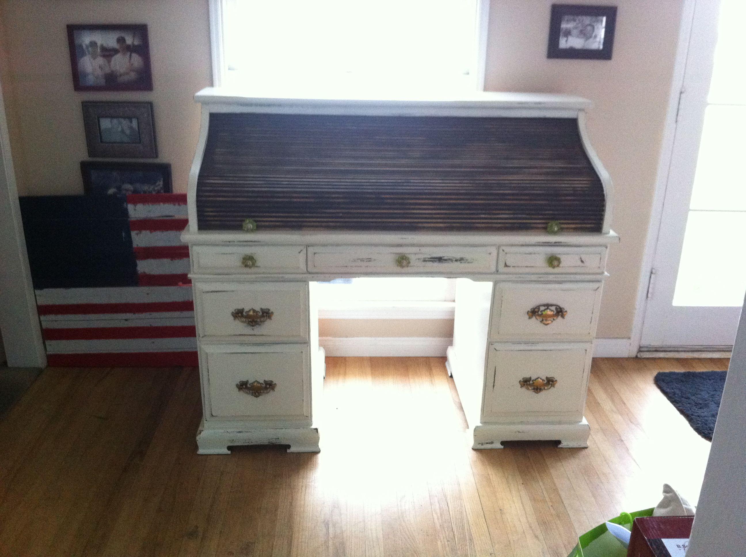 Refinished Roll Top Desk Home Decor Furniture Furniture