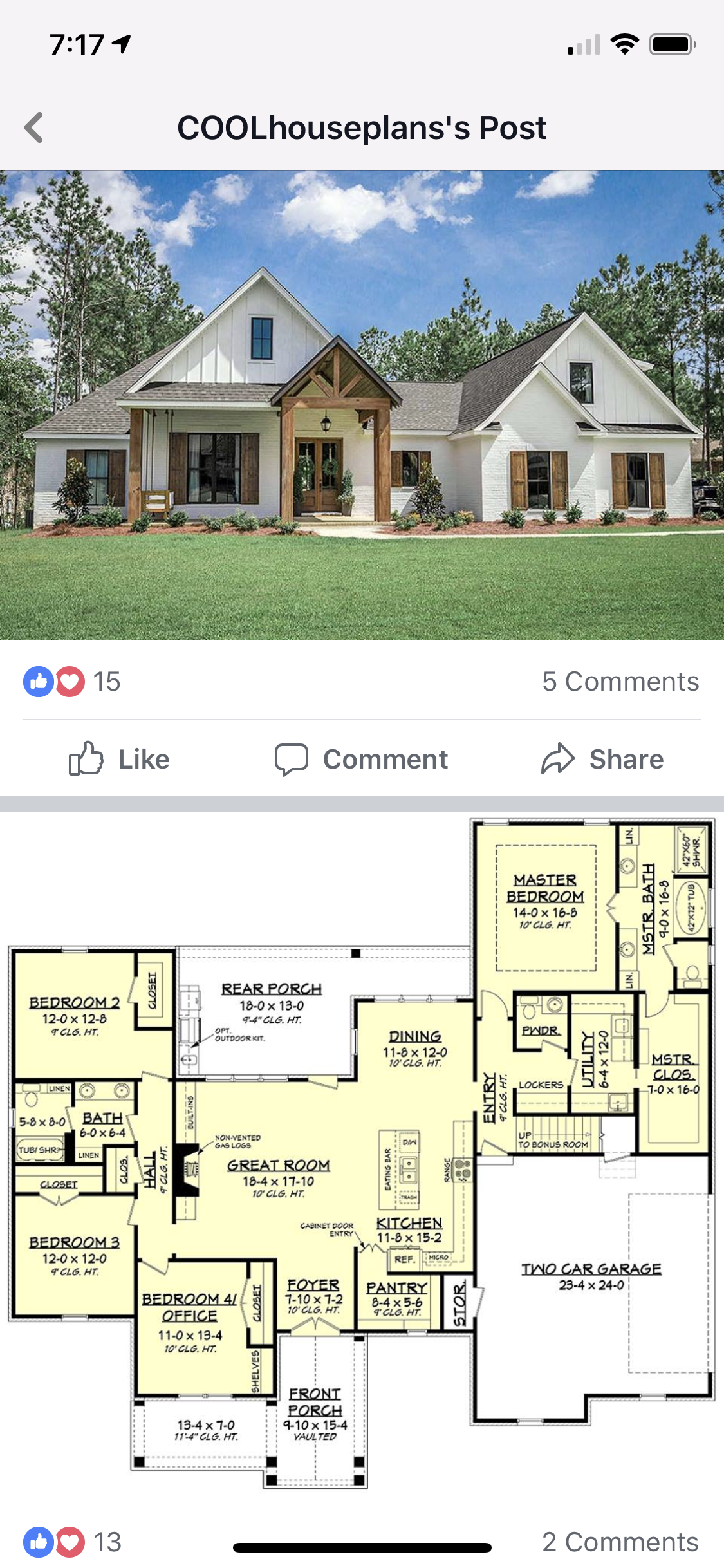 Pin By Karen Brandt On Home Sweet Home Farmhouse Floor Plans Modern Farmhouse Plans Farmhouse Plans